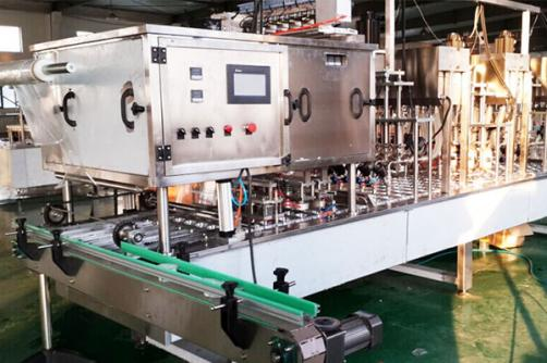 Linear Type Cup Filling And Sealing Machine