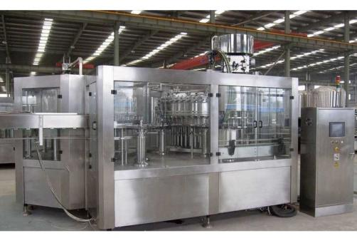 carbonated water washing filling capping machine