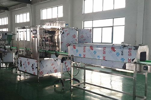 Linear Type oil  Filling line