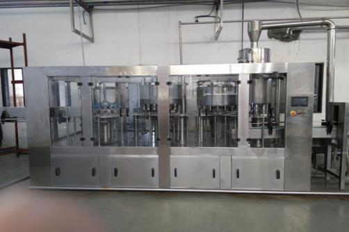Automatic  washing ,filling and capping machine for flavor milk