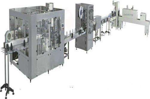 Autoamtic juice production line