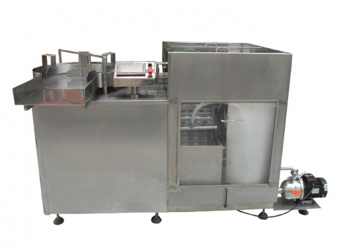 Roller type rinsing machine