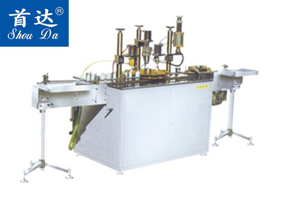 NQDG-201全自动气雾剂灌装机