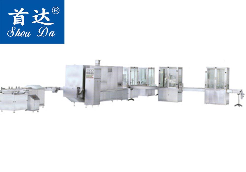 NQDG-20型全自动气雾剂灌装联动线