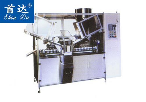 SD-QRGF-160 全自动膏体灌装、封尾机