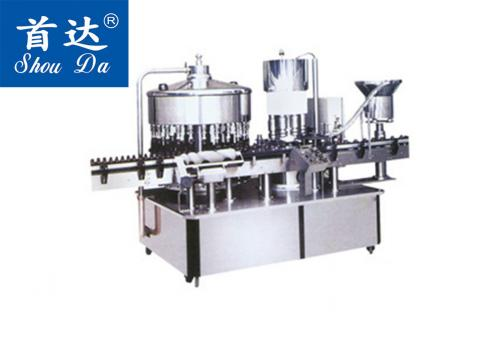 SD-HFX-6000 全自动回旋式灌装旋盖机