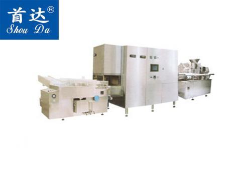 SD-CTGF-1880 全自动口服液洗烘灌封生产机组