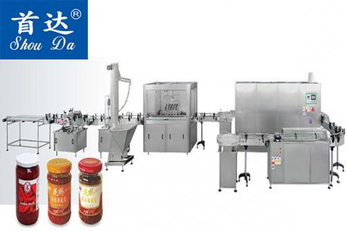 全自動醬類灌裝生產線