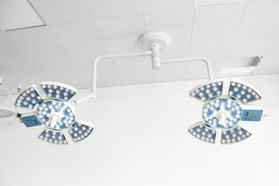 LED Surgical Light(140,000+140,000LUX-2 Head)