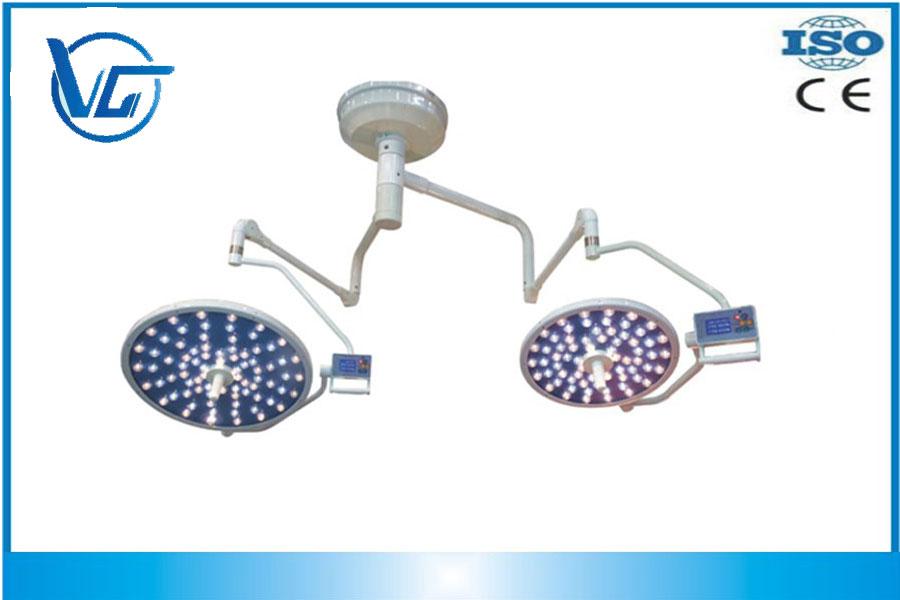 Nuevo Diseño 120,000+160,000LUX, VG-LED650/500 Lámpara quirúrgica