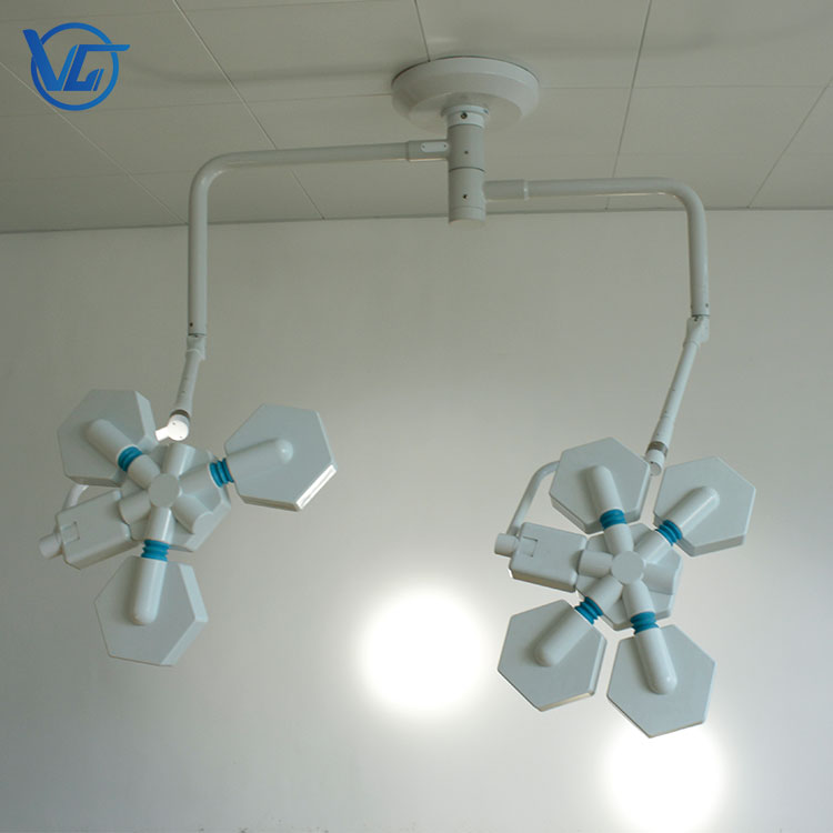 LED Surgical Light(120,000+140,000LUX-2 Head)