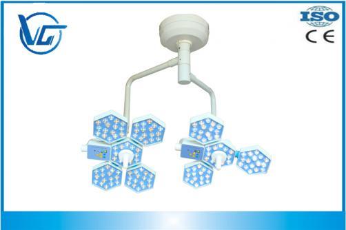 PRECIO BARATO 120,000+140,000LUX, VG-LED0504-1 Luz Led Quirúrgica de techo con doble cabezal