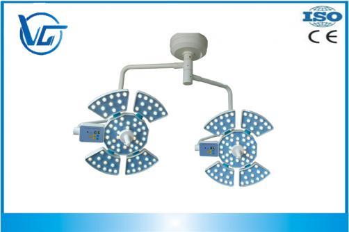 140000+140000LUX, VG-LED0505-2 Luz De Techo Quirúrgica Led Hospital Y Clínica Con Doble Cabezal