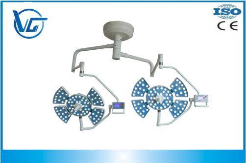 140000+140000LUX, VG-LED0505-3 Luz Led para techo de Hospital y Clínica Quirúrgica con doble cabezal