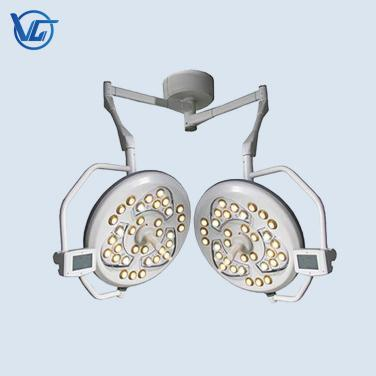 Double  heads LED Surgical  light (14000lux+14000lux)