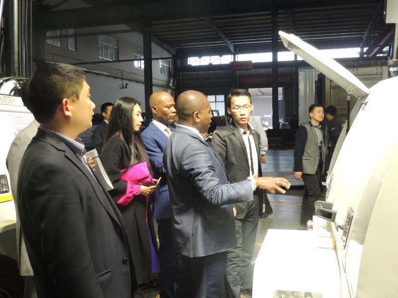 津巴布韦、莫桑比克驻华大使考察赛瓦特