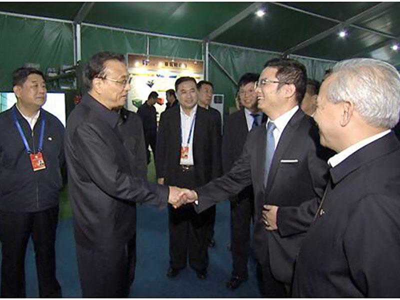 赛瓦特公司参加第二届军民融合发展高科技成果展览