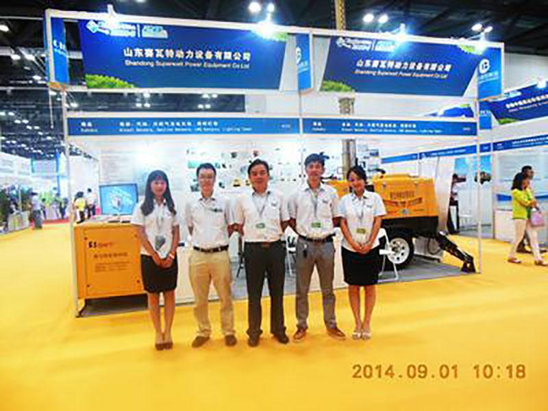 山东赛瓦特参展 第十三届中国国际内燃机及零部件展览会暨2014中国国际动力及内燃发电设备展览会