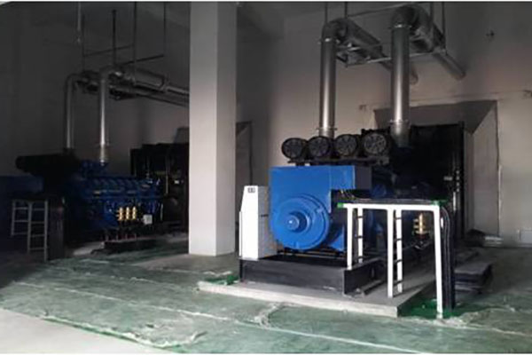 China Unicom Shijiazhuang Filiale purchased seven 1800KW Perkins gensets from SWT
