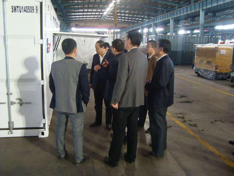 The Deputy Mayor of Jining City Visited SWT factory in Jining