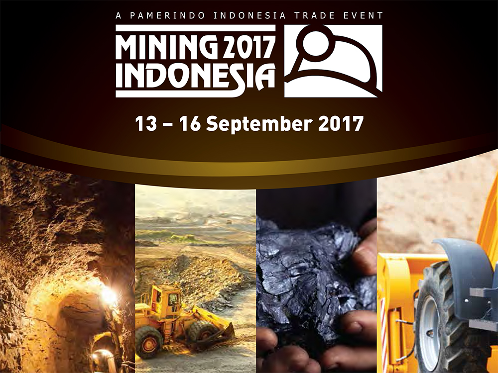 MINING INDONESIA 2017, Jarkata, 13th to 16th September