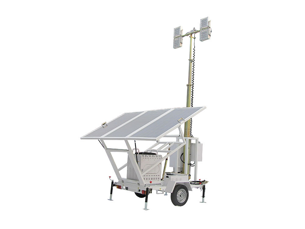 Solar LED manual lighting tower  600W  (VS series)