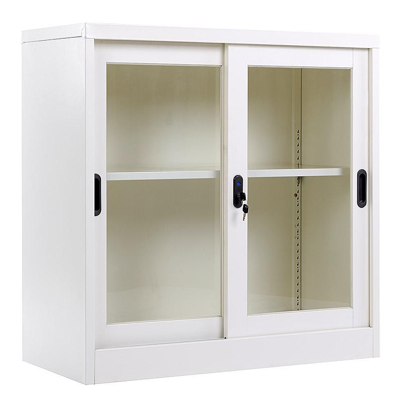 Glass sliding door cabinet 900*900mm