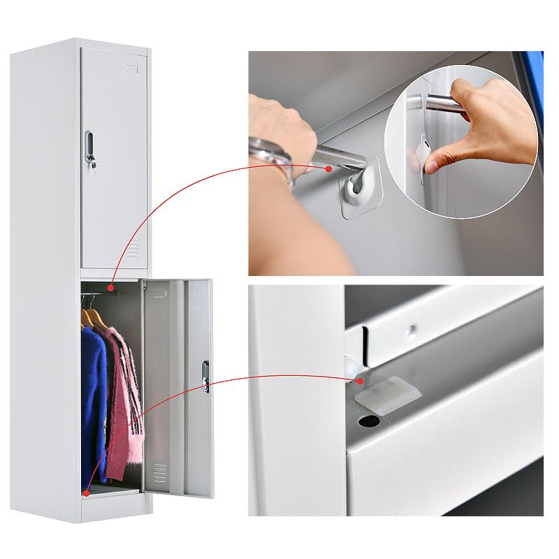 Double door locker 380*1850mm