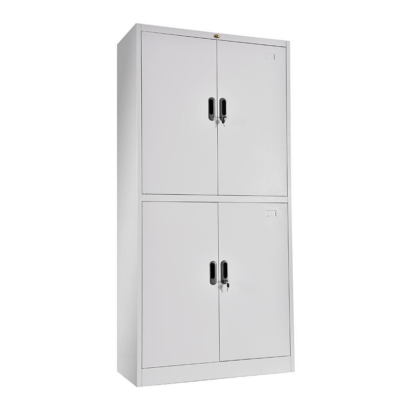 Double-tier metal door cupboard 900*1850mm