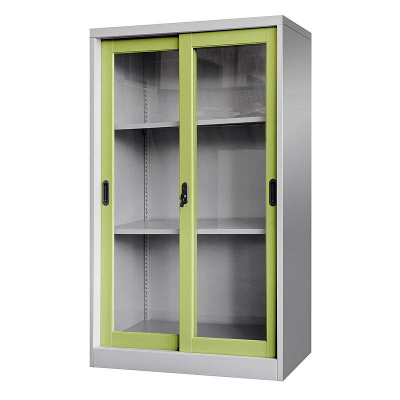 Glass sliding door cabinet 900*1400mm