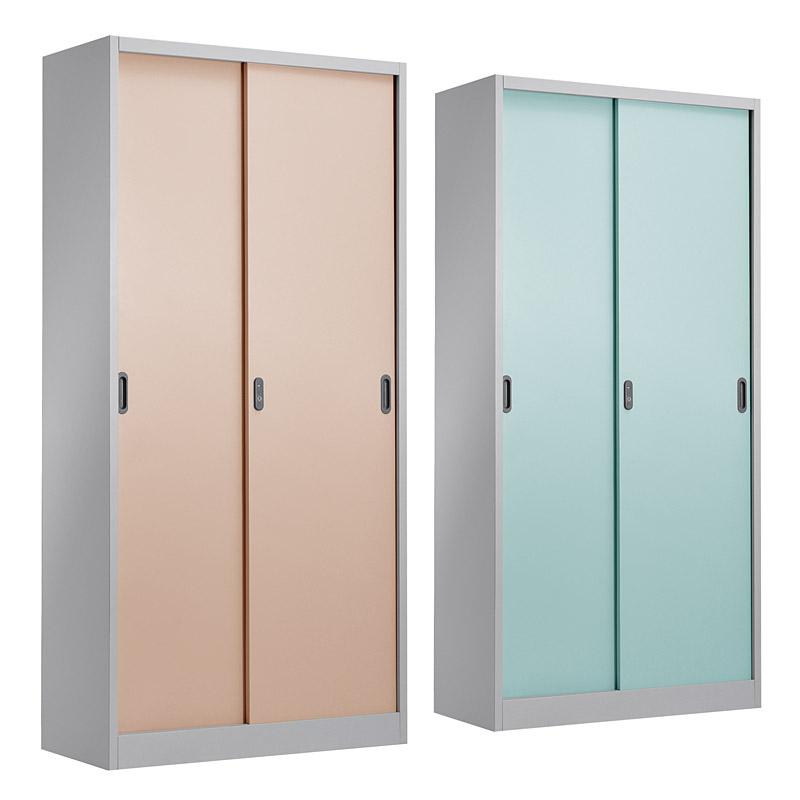 Metal sliding door cabinet 900*1850mm
