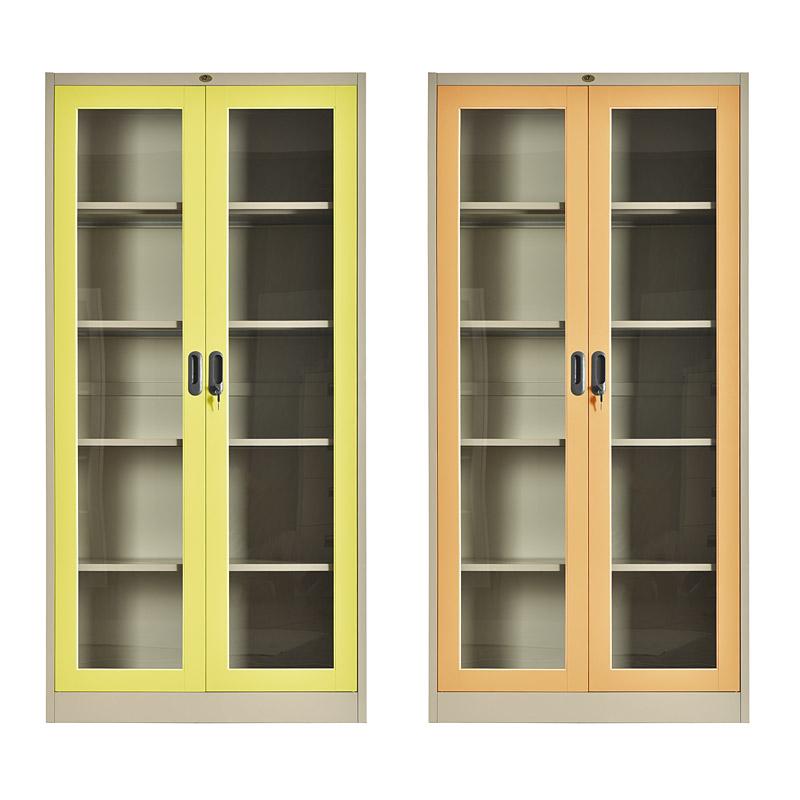 Glass swing doors cupboard 900*1850mm