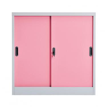Metal sliding door cabinet 900*900mm