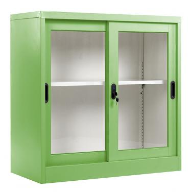 Glass sliding door cabinet 900*900mm