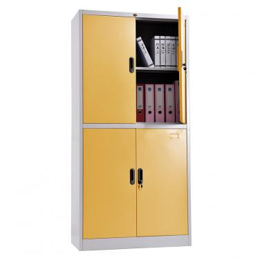 Double-tier metal door cupboard 900*1850mm