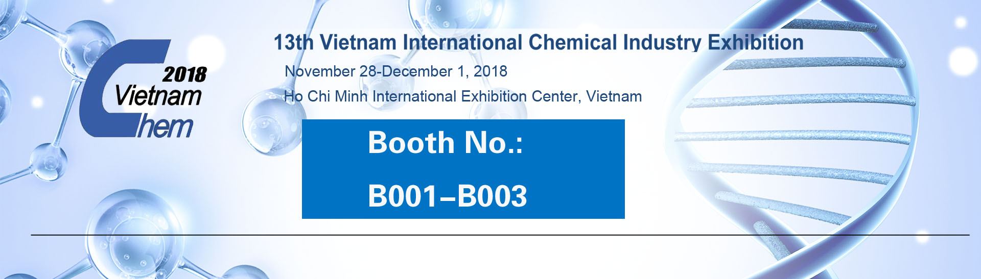 13th Vietnam International Chemical Industry Exhibition