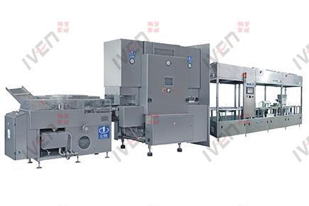 BXKZ Línea de producción de lavado, secado, llenado y tapado para frascos
