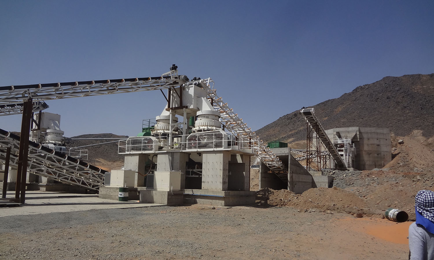 Granite Crushing Plant In Saudi Arabia