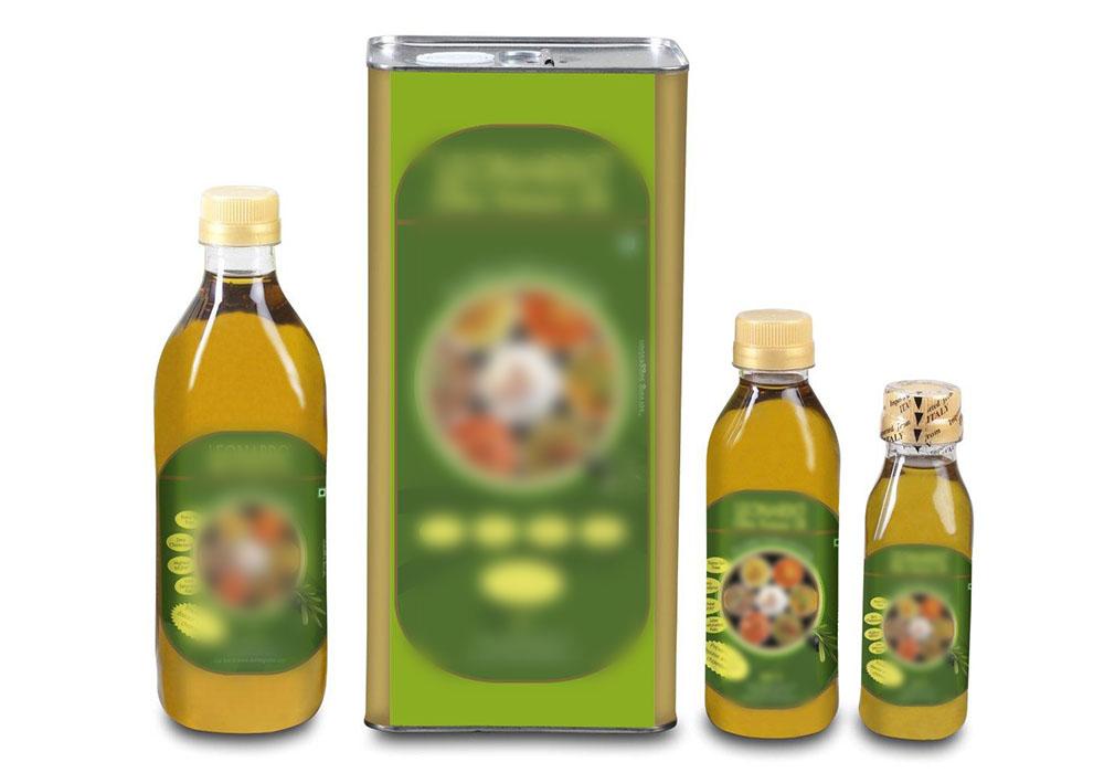 Edible oil packing machine