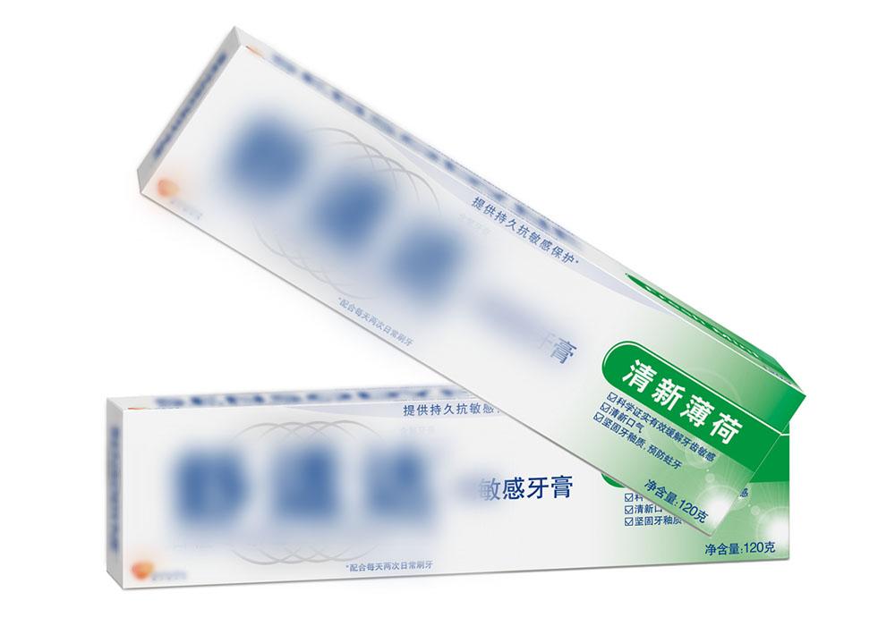 Anti-sensitive toothpaste filling sealing machine