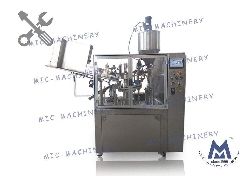 MIC-R60-I soft tube filling sealing debugging and introduction
