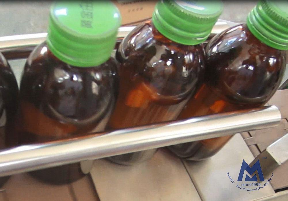 MIC-LL45 Syrup Filling Machine Customized for Saudi Arabian Customers