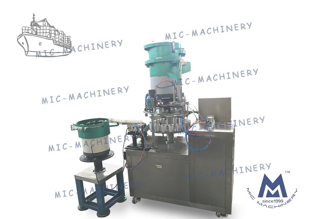 MIC-M60 Automatic 502 Filling Machine Exported to Turkey