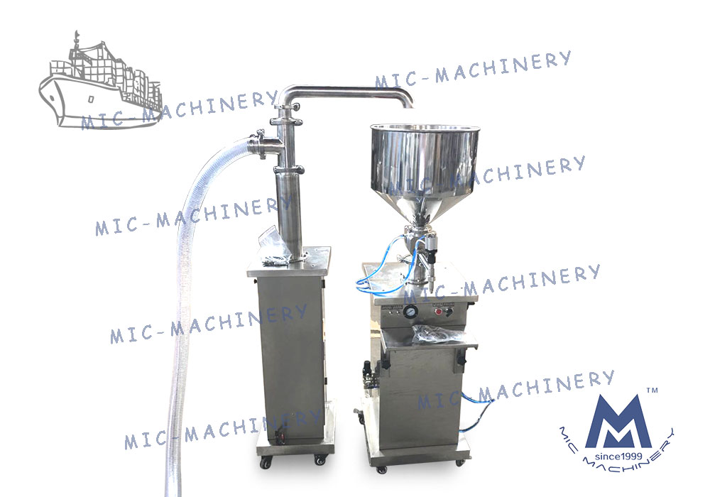 MIC-VO1 single filling machine delivered to Spanish customers