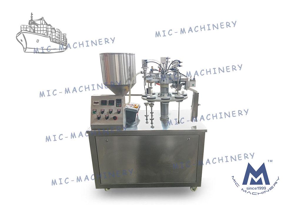 MIC-R30 Hose Filling Machine Exported to El Salvador