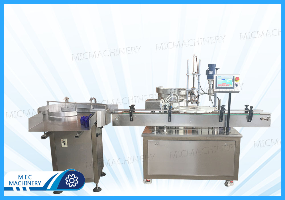MIC-E40 Electronic Cigarette Filling Machine and Bottle Loading Table Exported to U.S.A.