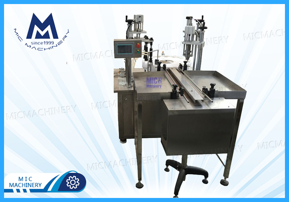 Perfume filling machine( MIC-L40  SEMI-Auto Perfume Filling & Capping Machine)
