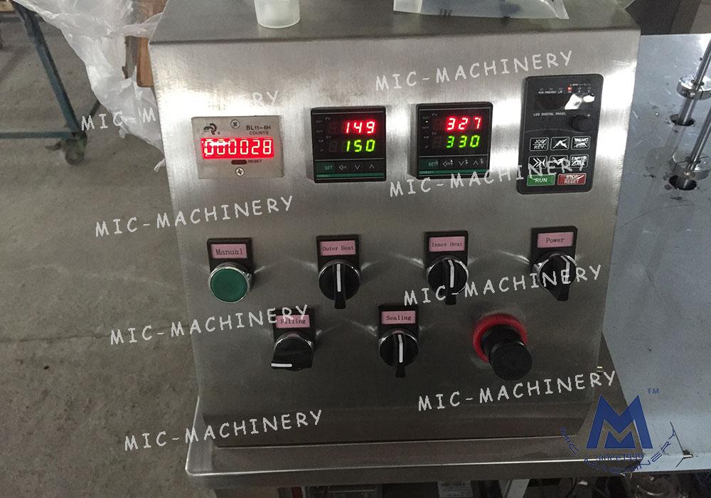 Cosmeticcreamandoinmenttube filling machine( MIC-R30 SEMI-Auto Soft Tube Filling & Sealing Machine)