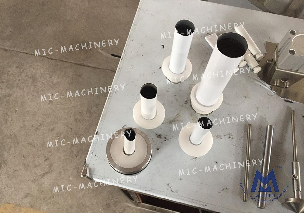 Paint filling sealing machine ( MIC-L30-I Aluminum Tube Filling Sealing Machine )