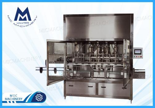 Olive oil filling machine (MIC-ZF8 linear piston oil filling machine)